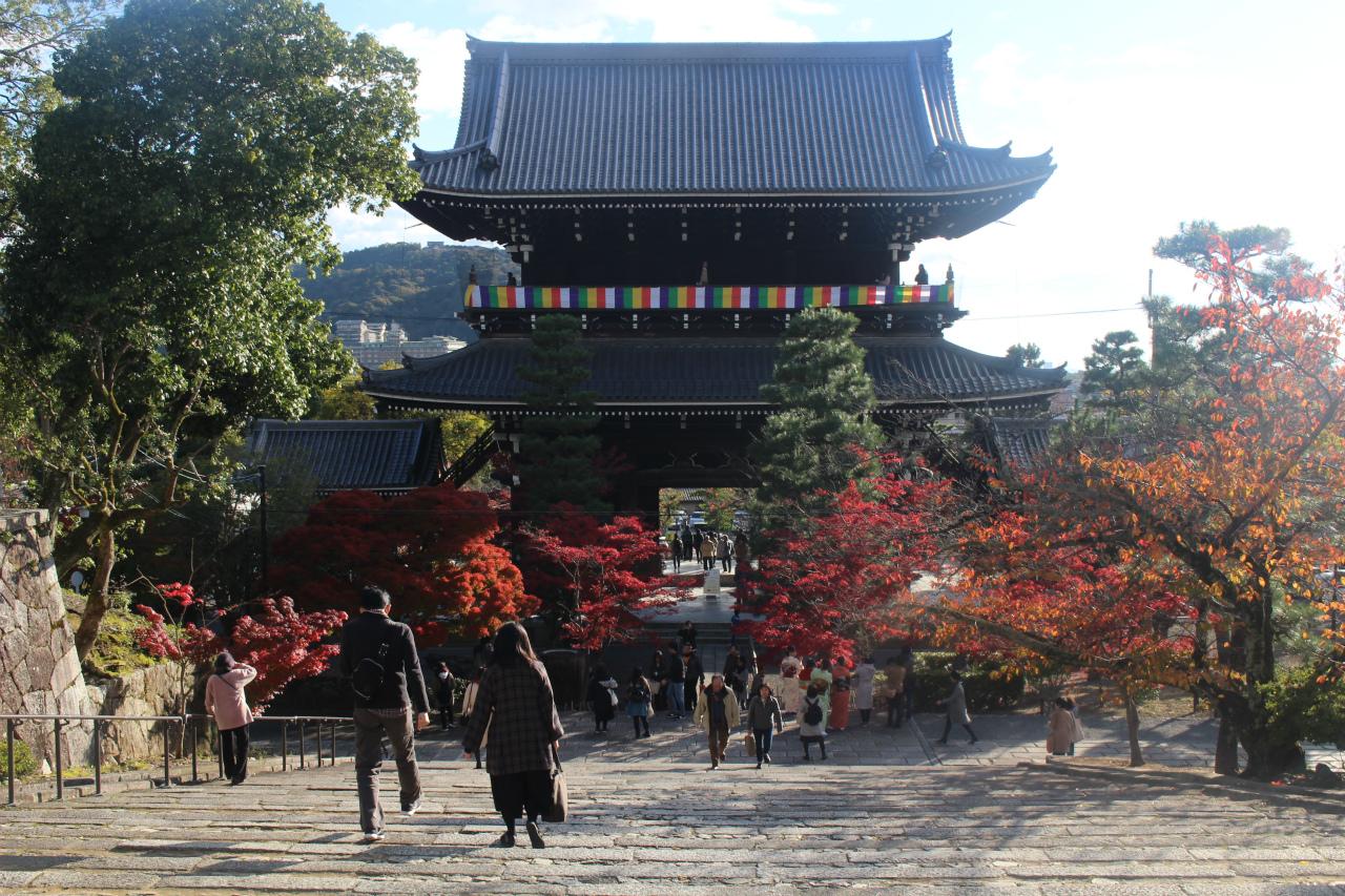 金戒光明寺(京都)の紅葉